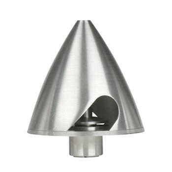 """Ogiva in alluminio Ø 1.75"""""""" + mozzo porta elica 4-5mm"""