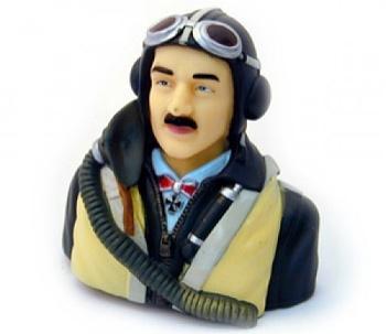 Pilota mezzo busto tedesco II WW