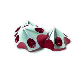 Ogiva 3D Small V2 per DA50-DL50-EVO 54 - RED