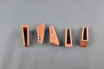 Squadretta parti mobili uniball BROWN - H = 25 mm.