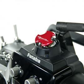 Tappo copri foro antenna V2 per TX FUTABA  e JR - RED