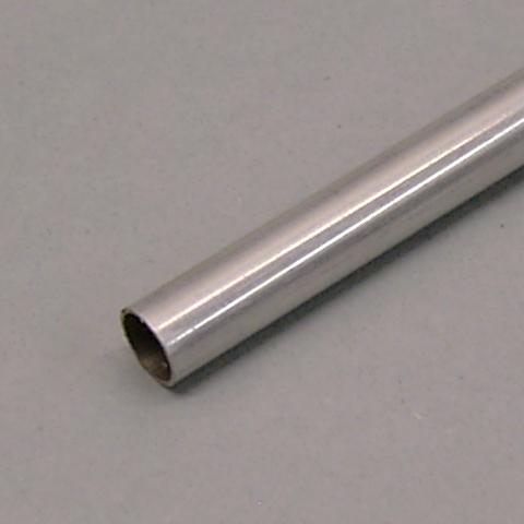 Duralluminio - Tubo Sezione Tonda mm.  5.4 x  4.6 x 1000