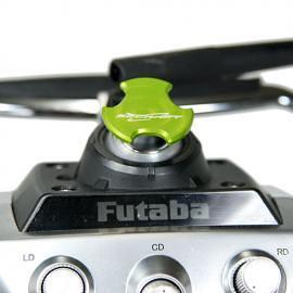 Tappo copri foro antenna V2 per TX FUTABA  e JR - GREEN
