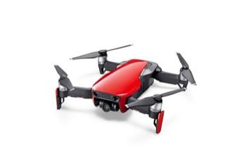 DJI - MAVIC AIR Fly More Combo Flame Red