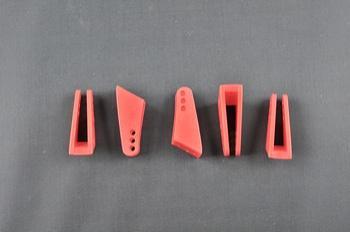 Squadretta parti mobili uniball RED - H = 25 mm.