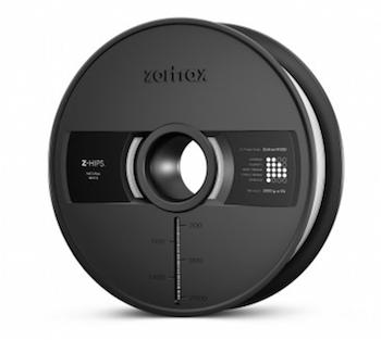 ZORTRAX - Bobina Filamento Z-HIPS - Black per M300