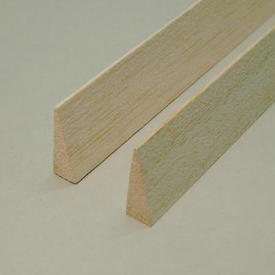 Balsa - Bordo di Uscita Simmetrico mm.  6 x 25 x 1000
