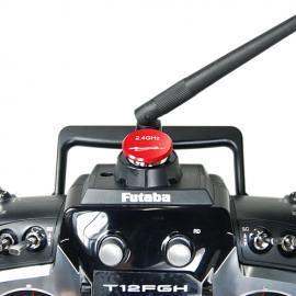 Tappo copri foro antenna V1 per TX FUTABA  e JR - RED