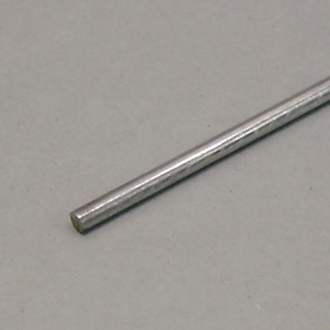 AERONAUT - Ferro Zincato - Tondino mm.  2.5 x 1000
