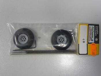 Kit gambe carrello completo ø 3 mm