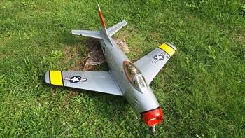 Kit modello F86 Sabre BYRON MODEL