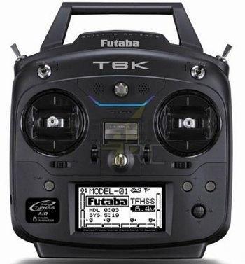 FUTABA - T6K 2.4Ghz T-FHSS Mode2 + Rx R3006SB