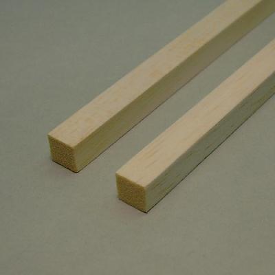 Balsa - Listello quadrato mm.  3 x  3 x 1000