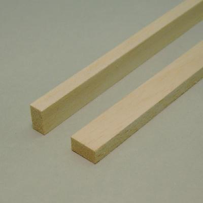 Balsa - Listello rettangolare mm.  6 x  8 x 1000