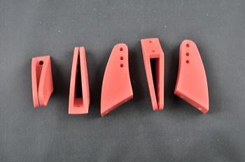 Squadretta parti mobili uniball MAXI RED - H = 33 mm.