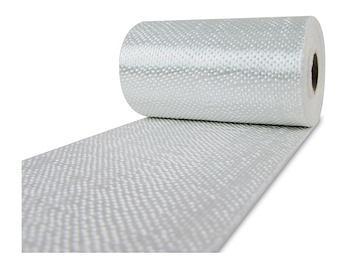 Nastro in tessuto di fibra di vetro 49 gr/m2 larghezza 50 mm lunghezza 100 m