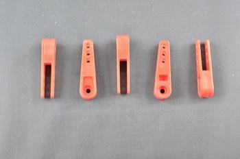 Squadretta per tirante uniball per servi  MULTIPLEX - L= 38,8 mm.
