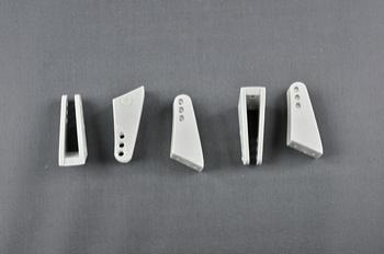 Squadretta parti mobili uniball GREY - H = 25 mm.