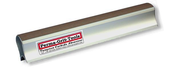 Tampone Abrasivo 280 x 51mm Lato interno Grana FINE  (circa 320) lato esterno Grana GROSSA (circa 180)