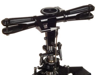 T-REX 700 VBar Rotor head  upgrade - Black