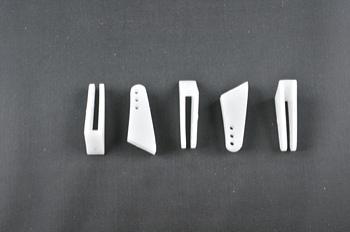 Squadretta parti mobili uniball WHITE - H = 25 mm.