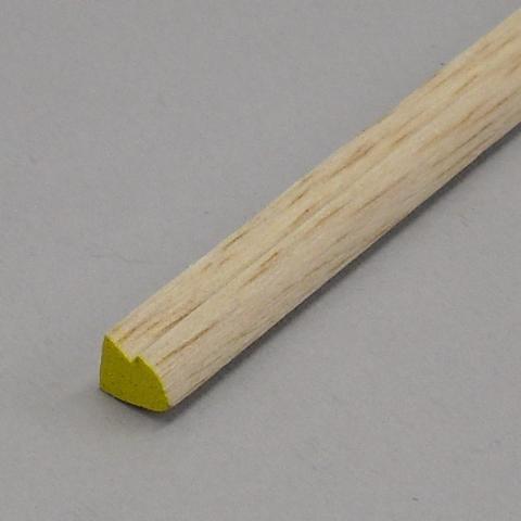Balsa - Bordo di Entrata Asimm. con Ribasso mm. 13 x 13 x 1000